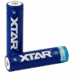 XTAR 18650 3.7V 2200mAh Li-ion akumulaatorid