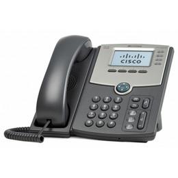 Cisco 4 Line IP Phone with Display, PoE and Gigabit PC Port