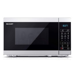 Sharp YC-MG02ES Mikrowelle mit Grill silber