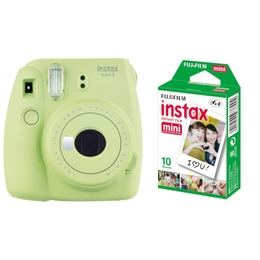 Fujifilm  Instax Mini 9 + Instax mini glossy (2x10) Lime Green