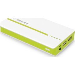 Esperanza  POWER ATOM 11000mAh white and green