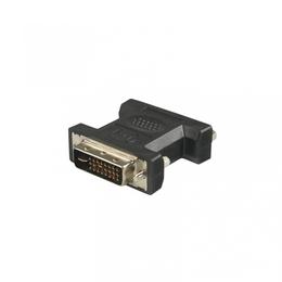 4World  DVI-D (M) - DVI-D (F) Black
