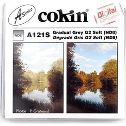 Cokin  Filter A121S Gradual grey 2 ND 8