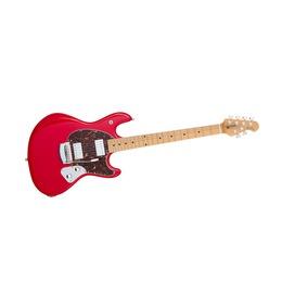 Music Man  StinGrey Guitar Chili Red