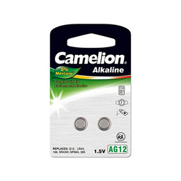 Camelion  Alkaline Button celles AG12 2-pack