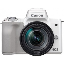 Canon EOS M50 + EF-M 18-150mm IS STM White