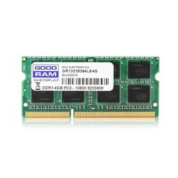 GOODRAM DDR3 SODIMM 4GB 1333MHz CL9 512*8 Single Rank