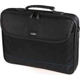 "Natec  Laptop Bag IMPALA Black-Blue 17.3"" (stiff shock absorbing frame)"