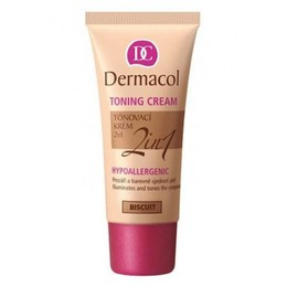 Dermacol  Toning Cream 2in1 (30ml) (Biscuit)