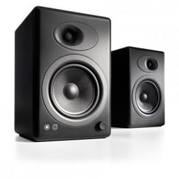 Audioengine A5+ Powered Speakers, Black