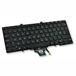 Dell Latitude 7400 ENG taustvalgustusega klaviatuur V5H1J