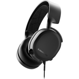 SteelSeries Gaming headset, Arctis 3 (2019 Edition), Black, Built-in microphone (61503)