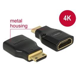 Delock Adapter HDMI mini-C (M) - HDMI (F) 4K@60Hz