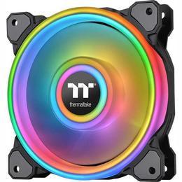 Thermaltake Riing Quad 14 RGB 3erP. black 140x140x25 (CL-F089-PL14SW-A)