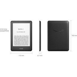 Amazon Kindle 2019 4GB White with Ads
