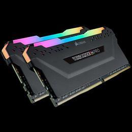 Corsair DDR4 VENGEANCE RGB PRO, 32GB (2 x 16GB), DDR4, DRAM, 3000MHz, C15, Black