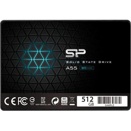 "Silicon Power Ace A55 512GB 2.5"", SATA III 6GB/s, 560/530 MB/s, 3D NAND"
