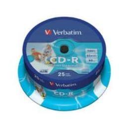 Verbatim CD-R prinditav 52x cake 25 tk
