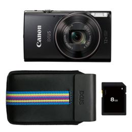 Canon IXUS 285 HS Kit Black