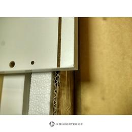 Valge Kõrgläikega Seinakapp (Iluvigadega., Karbis) (kasutatud)