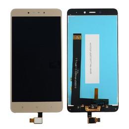 Xiaomi Redmi Note 4 originaal kuldne displei moodul klaas + LCD ekraan