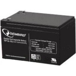 Gembird Rechargeable battery 12 V 12 AH for UPS