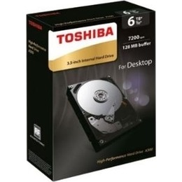 Toshiba  X300 High-Performance 6TB, SATA 6Gb/s