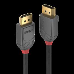 Lindy DisplayPort kaabel 1.0m, 8K 7680x4320@60Hz, Anthra Line
