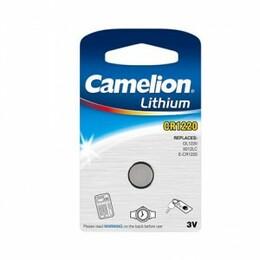 Camelion Patarei Lithium Button celles CR1220
