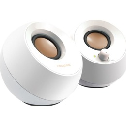 Creative Labs Pebble white 4.4W, USB,3.5mm