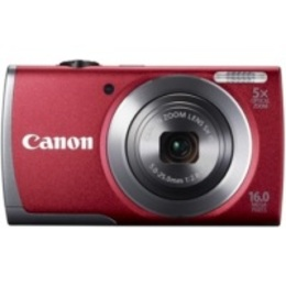 Canon PowerShot A3500 IS Red