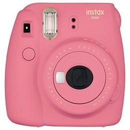 Fujifilm Fujifilm Instax Mini 9 + 10 Instax mini glossy Flamingo Pink