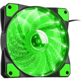 Natec Genesis Case Fan Fan for power supply/Hydrion Genesis housings 120 green LED