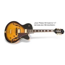 Epiphone  Joe Pass Emperor-II PRO Vintage Sunburst