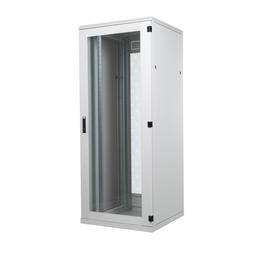 BKT Seadmekapp 45U 2120x800x1000 k,l,s, perforeeritud uksed, kandevõime kuni 1000kg, hall, STANDARD II