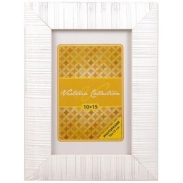 Victoria Collection  Pildiraam Sand 10x15, White (VI2451)
