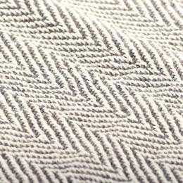 vidaXL puuvillane pleed, kalaluu mustriga, 220 x 250 cm, hall 245320