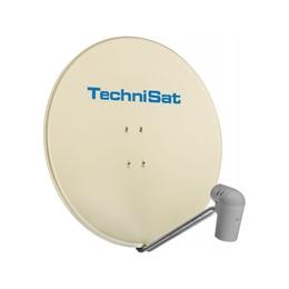 TechniSat  SATMAN 850 Plus SAT mirror with UNYSAT Quattro LNB smiley yellow