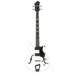 Hagstrom  Viking Bass White