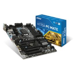 MSI Socket 1151 H170A PC MATE