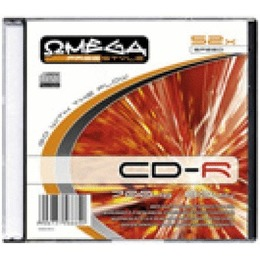 Omega CD-R Freestyle toorikud 700MB 52x Slim Case
