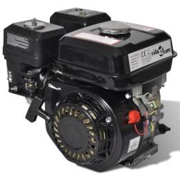 vidaXL  Bensiinimootor 6,5 HP 4,8 kW Black