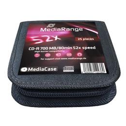 MediaRange CD-R 700MB/80min/52x MediaCase 25