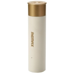 Remax Bullet Shell Design Power Bank 2500mAh White