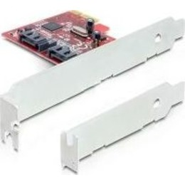 Delock PCI Express Card > 2 x internal SATA III 6Gb/s (89270)