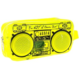 Fydelity Le BoomBox Doppler Small Bag with Speakers Yellow