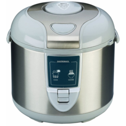 Gastroback  Rice cooker 42507 Inox/ , 450 W, Capacity 3 L, Number of baskets 2
