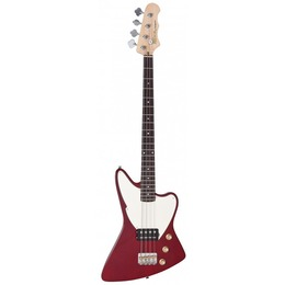 Fretking  Black LABEL ESPRIT BASS - THRU Red