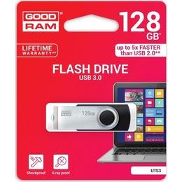 GOODRAM USB 3.0 Flash Drive TWISTER 128GB Black USB3.0
