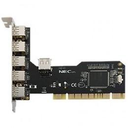 Logilink PCI interface PC0041,  card, 4+1x USB 2.0, NEC chipset